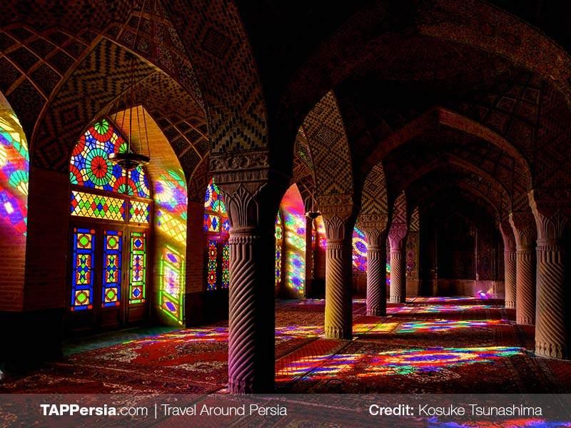 Nasirolmolk Mosque - Shiraz Top Attractions - Blog - TAP Persia