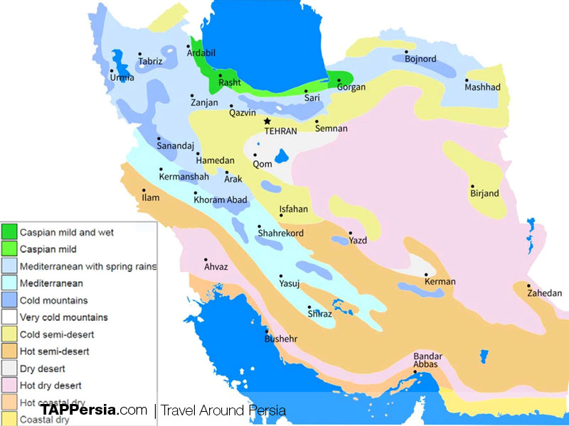 How can I travel to Iran?