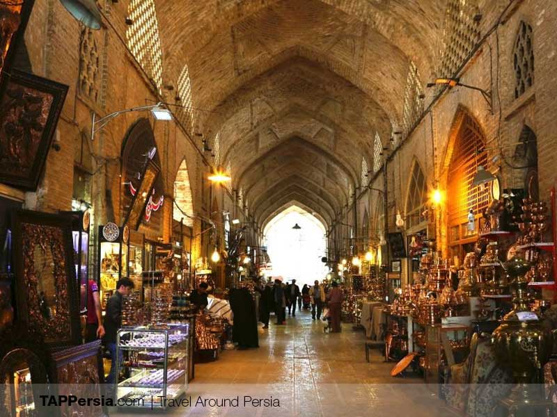 Persian Civilization Invention - bazaar